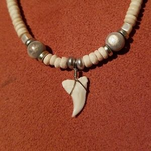Shark tooth necklace?